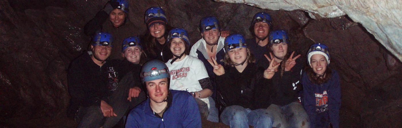 guided caving in the adirondacks