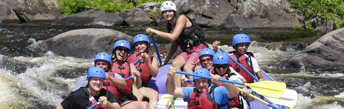 Rafting Trip on the Hudson