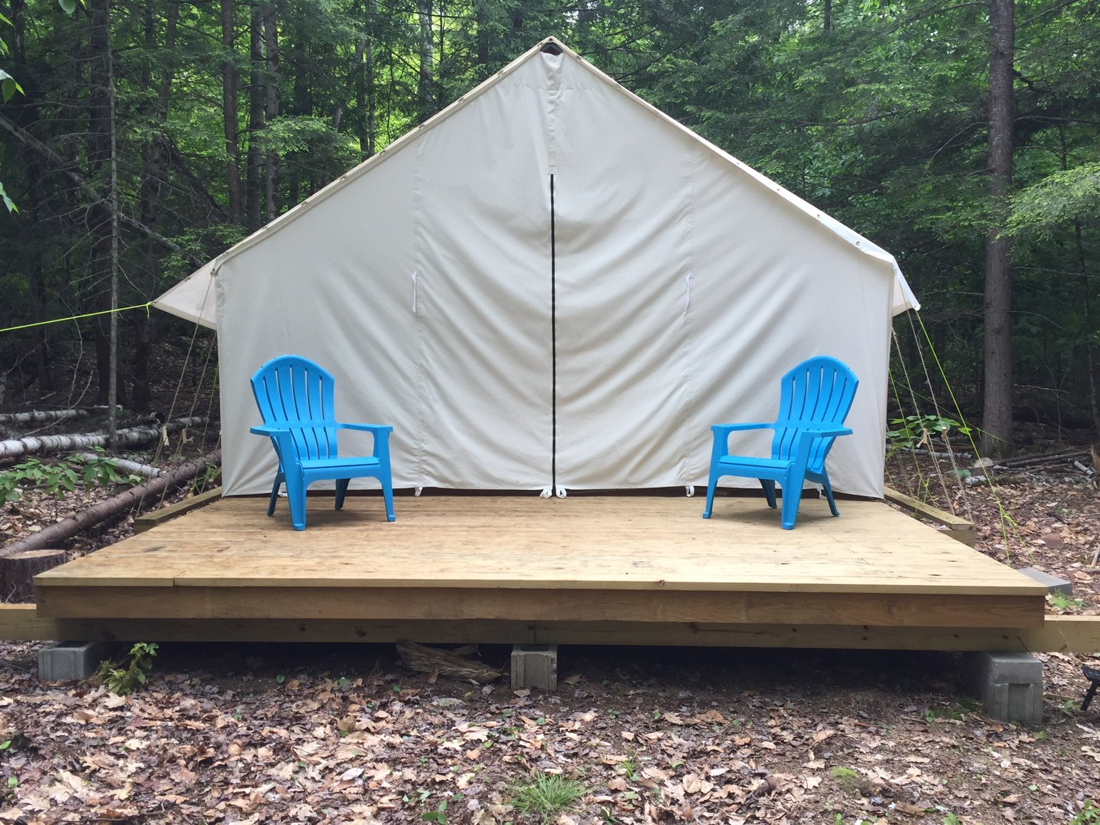 Glamping in the ADKs